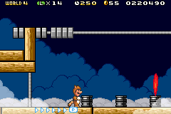 Super Mario Advance 4 - Super Mario Bros. 3 -  - User Screenshot